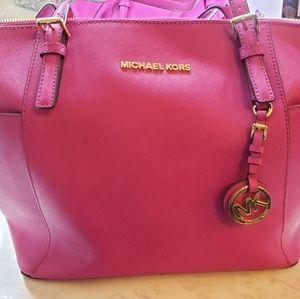 Hot Pink Michael Kors Shoulder bag